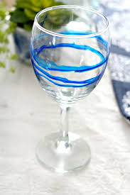 dollar store hack alcohol ink glasses babble