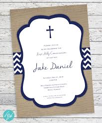 First Communion Invitations Cards First Communion Invitation Holy Communion First Eucharist
