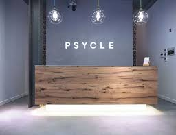 Spa Reception Desk Best 25 Reception Desks Ideas On Pinterest Reception Counter