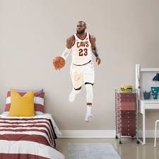 Full Wall Stickers For Bedrooms Basketball Wall Decals U0026 Graphics Shop Fathead Nba