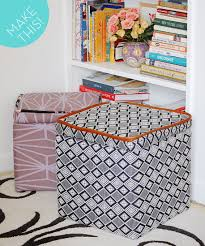 Upholster Ottoman How To Make And Upholster A Storage Ottoman Curbly