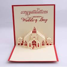 blessing cards 3d hollow out church wedding card blessing cards greeting cards