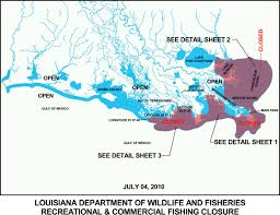 Louisiana Map Of Parishes by Ldwf Modifies Fishing Closures In Portions Of Plaquemines St