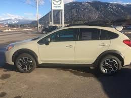 subaru crosstrek 2017 desert khaki used subaru crosstrek 2016 for sale in terrace british columbia