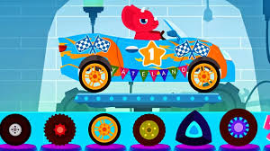 monster truck cartoon videos car driving for kids truck driver monster truck ambulance