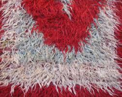 shaggy rugs etsy