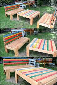 Patio Furniture Pallets by Awesome Pallet Wooden Furniture Plans Wood Pallet Furniture