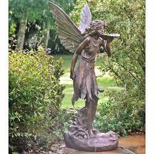 large garden statue large standing resin garden