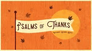 thanksgiving our redeemer evangelical free church