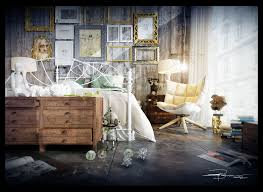 Artists Studios In Modern Eclectic  Vintage Styles - Vintage style interior design