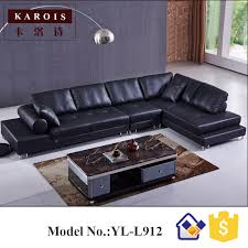 Online Buy Wholesale Black Sofa Sets From China Black Sofa Sets - Black modern living room sets