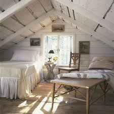 bedroom fascinating green white childrens attic room interior