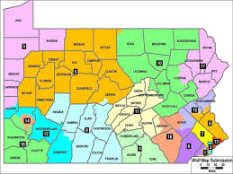 Umkc Campus Map In Pennsylvania New Court Drawn Voting Map Could Shift Advantage