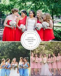 bridesmaid dress rentals stress free bridesmaid dress rental with borrowed dress