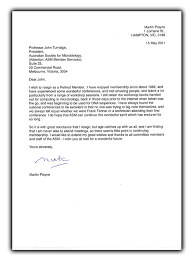 australian business letter template proper standard formal samples