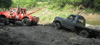 jeep stuck in mud off road 4x4 recovery