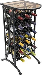 sorbus wine rack stand sorbus wine rack stand bordeaux chateau style with glass table top