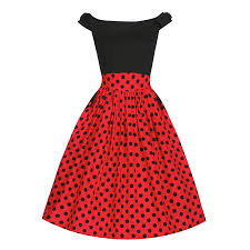 carla u0027 black red polka dot swing dress sic pinterest