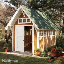 Free Online Diy Shed Plans by Outdoor Storage Locker Family Handyman