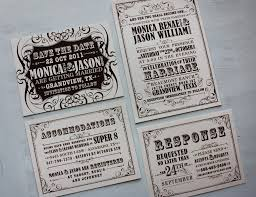 vintage wedding invitations cheap brown vintage poster style wedding invitations save the