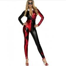 Halloween Costume Harley Quinn Aliexpress Buy 2016 Super Villain Harley Quinn Costumes