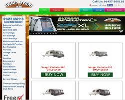 Glossop Caravans Awnings Business Search Caravannersrus