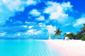 Sailboat Wallpaper Beaches Beach Sand Islands Plams Sea Solomon Clouds Lonesome