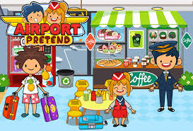 my pretend airport kids travel town free free download of