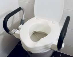 rehausseur siege wc réhausseur wc avec accoudoirs vita confort