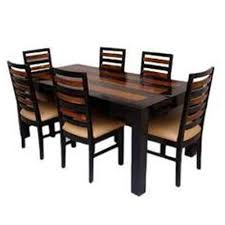 six seater dining table six seater dining table with 5 years warranty at rs 25000 set s