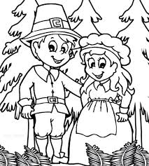 coloring pages pilgrim and indian coloring pages pilgrim and