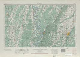 Map Of Hattiesburg Ms Louisiana Topographic Maps Perry Castañeda Map Collection Ut