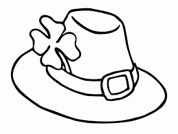 pilgrim hat coloring pages coloring