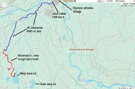 Whistler Trail Map Jane Lakes Whistler Beautiful Serene Accessible Clubtread