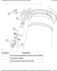 2007 2011 ford expedition and navigator air suspension
