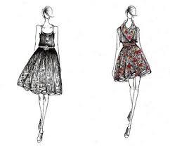 short dress sketches jpg