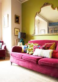 sofa pink 12 times a pink sofa made the room design sponge