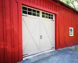 barn style garages carriage house best red barn garage doors accents woodtones images