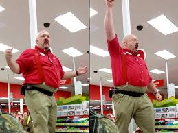 target red card exclusive black friday target manager gives speech to black friday workers sparta style