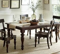 Pottery Barn Dining Room Sets Pb Lawton Extending Dining Table Extends Via Leaves In The Middle
