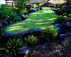 building a backyard putting green living the country life