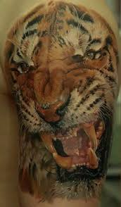 3d realistic tiger head tattoo tattooimages biz 3d realistic