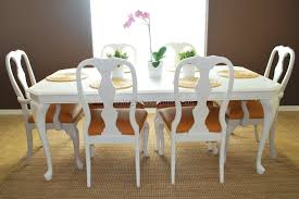 Covered Dining Room Chairs Queen Anne Dining Room Chairs 9 Best Dining Room Furniture Sets