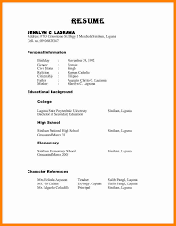 proper format for references on resume professional references