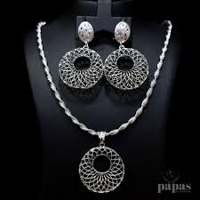 real silver necklace images Papas fine jewellery jpg