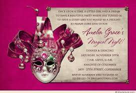 sweet 16 magical night invitation birthday party wording