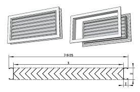ventilation adjustable air vent air grille bathroom door