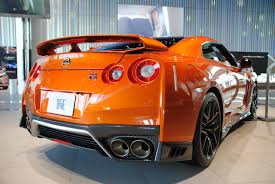 Nissan Gtr Orange - oc 2017 nissan gtr at the nissan global headquarters in japan
