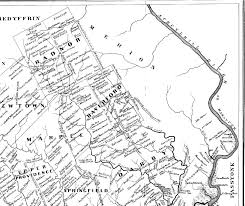 Delaware County Map Delaware County Pagenweb Archives