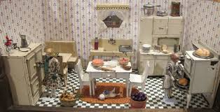 Kitchen Dollhouse Furniture by Arcade Toys For The Dollhouse A 1920s Kitchen By Susan Hale